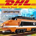 Creador lepin 21007 technic serie del tren el horizon horizon express modelo bloques de construcción ladrillos juguetes educaitonal