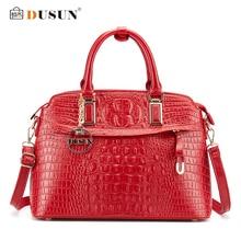 DUSUN Luxury Handbags Women Bags Designer Famous Brands Messenger Bag Crocodile Women Bag Handbags Bolsa Feminina Shoulder Bag