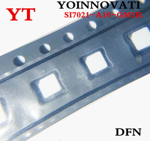 Image 2 - 10ピース/ロットSI7021 A10 GM1R SI7021 A10 SI7021 icのtemp sensor rh 2% dfn最高品質。