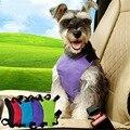 Adjustable Car Pet Dog Seat Belt Lead Auto Harness Dog Leash Safety Seat Belt Collar Size L Neck 52-78CM Chest 58-88CM