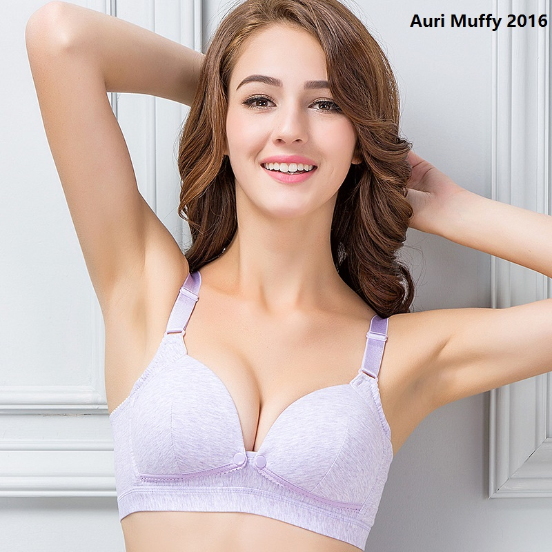 Auri Muffy 2016 underwear for pregnant women Maternity bra Wire Free Nursing Bra Underwear Women Breast