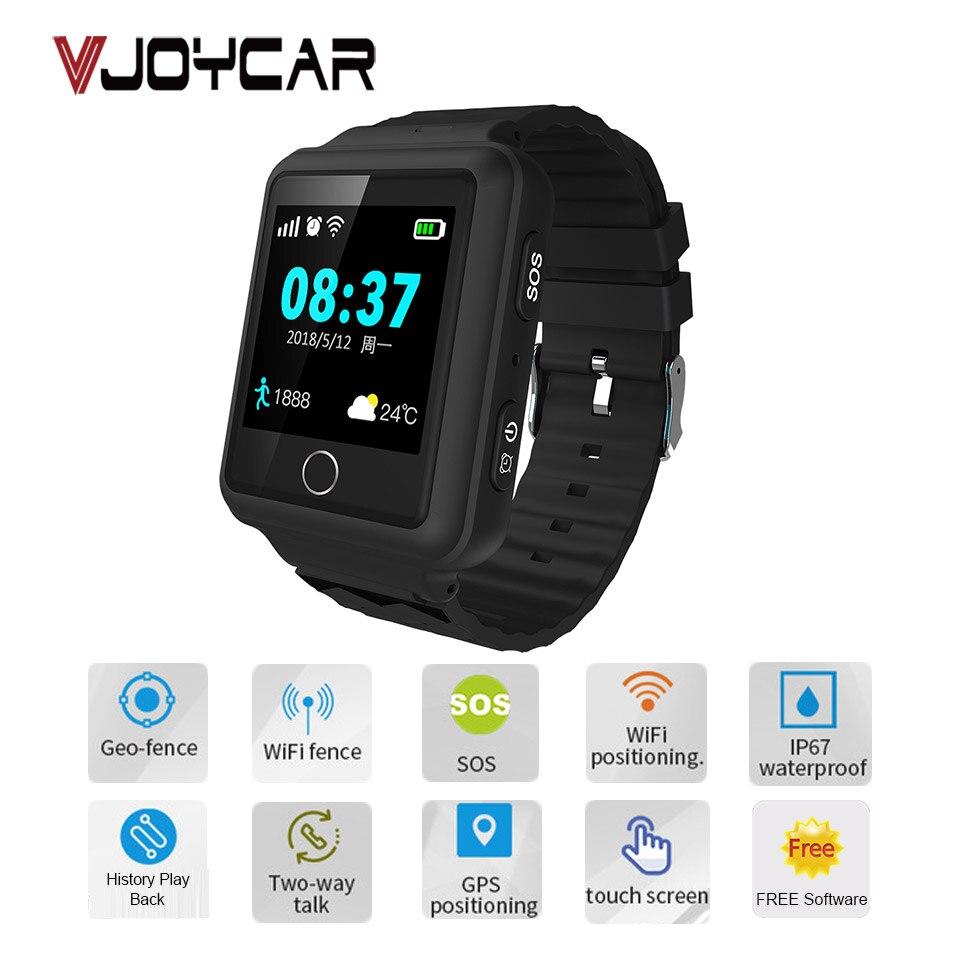 Modern GPS Tracker Watch Tkstar For Children Elderly Students SOS Remote Monitor Long Battery Life IPX6