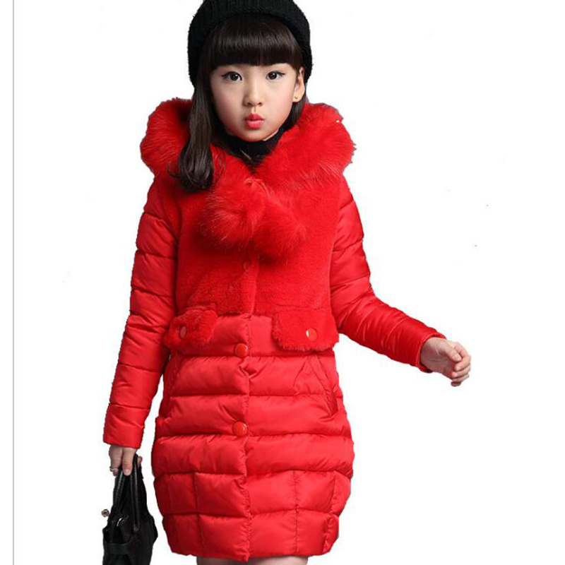 2017 Fashion Girl winter down Jackets Children Coats warm hooded thick duck Down Kids Outerwears for girls jacket casual 2016 winter jacket for boys warm jackets coats outerwears thick hooded down cotton jackets for children boy winter parkas