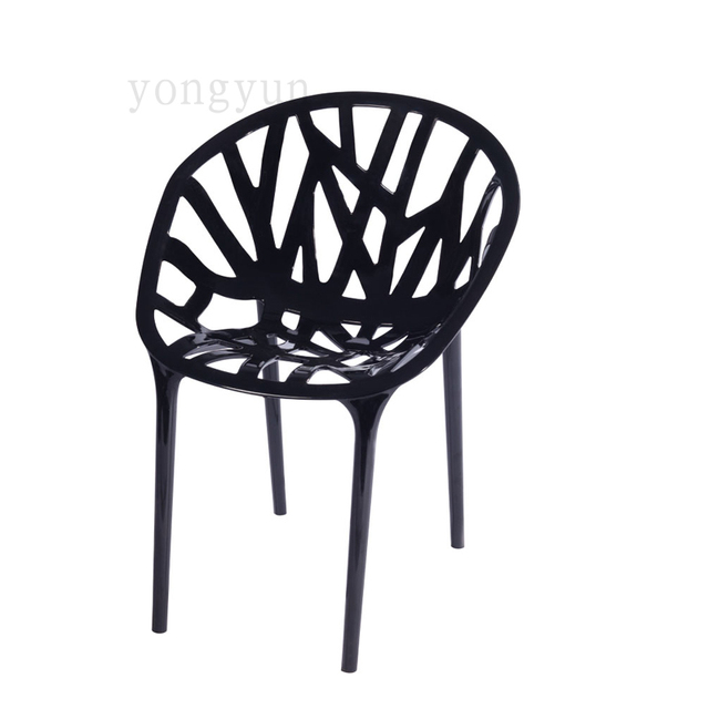 lastic vegetal vine dining chair tree design pp polypropylene chair modern minimalism mould. Black Bedroom Furniture Sets. Home Design Ideas
