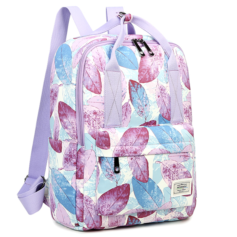 Floral Printing Women Backpack School Bag For Teenage Girls Bagpack Travel Bag Large Capacity Can be Portable Bags Schoolbag women casual backpack for teenage girls children school bags bagpack lady laptop backpack student book bag schoolbags pink blue