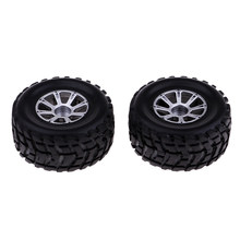 2 stuks Band Banden & Velgen voor WLtoys A949 A959 A969 K929 RC Buggy Vervanging(China)