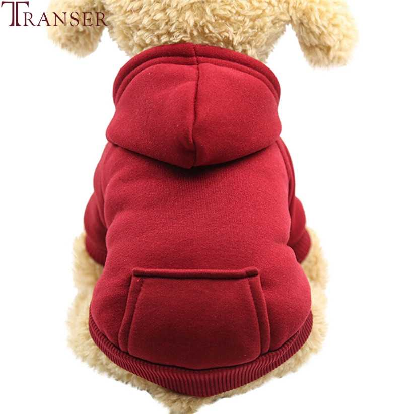 Drop Shipping Casual Dog zimowe bluzy bluzy z kieszonką dla małych psów ciepły płaszcz ubrania dla zwierząt 80913