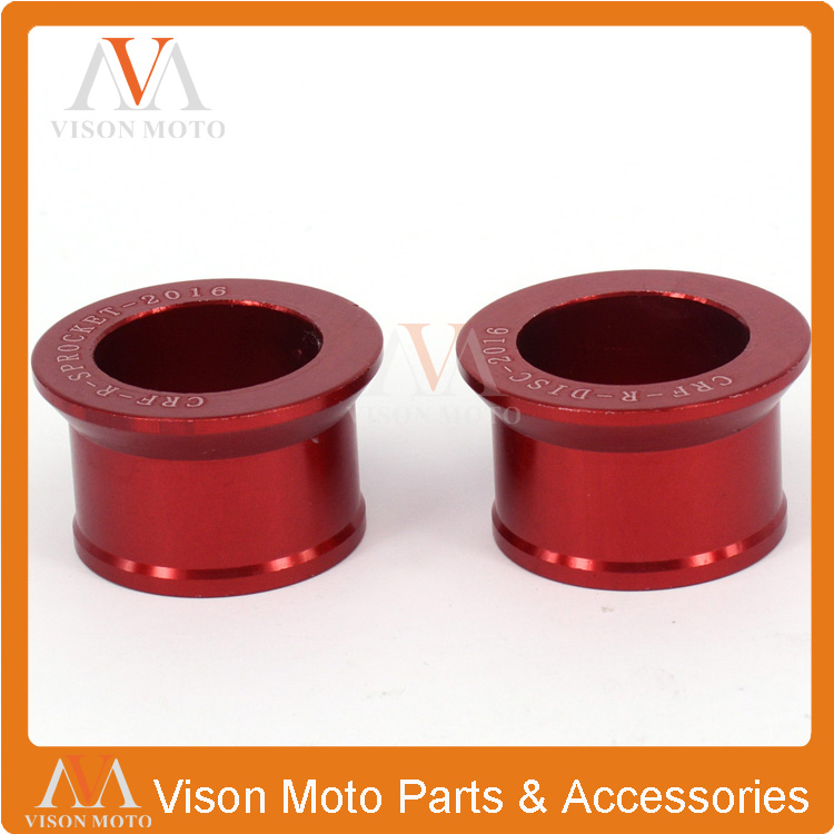 Billet Rear Wheel Hub Spacer For Honda CR125 CR250 CRF250R <font><b>CRF250X</b></font> CRF450R CRF450X Motocross Enduro Supermotard Dirt Motorcycle image