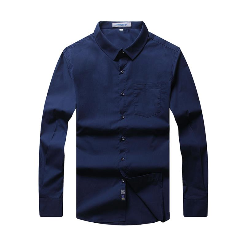 8XL 6XL 5XL Brand New Men Shirt Male Dress Shirts Men s Fashion Casual Long Sleeve