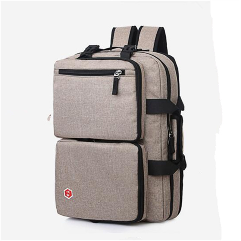2016 15.6-inch Laptop Computer Bags documents Business Backpack Multi-function Casual Bag Men and Women Canvas Travel Bags men canvas 15 inch notebook backpack multi function travel daypack computer laptop bag male vintage school bags retro knapsack