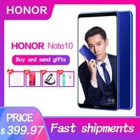 Huawei Original Honor Note 10 Fingerprint ID 970 Octa core Android 8.1 NFC 5000mAh Battery OTA Mobile Phone Dual SIM 6.95 inch