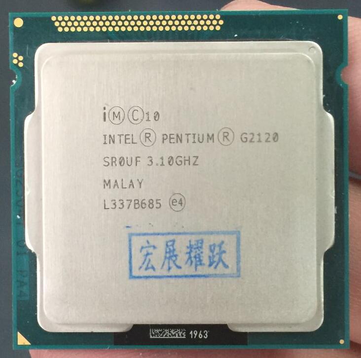 Intel Pentium Processor G2120 (3M Cache, 3.10 GHz) CPU LGA 1155 100% working properly Desktop Processor PC Computer Desktop CPU