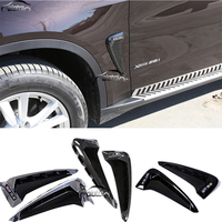 For BMW X5 F15 2014 2016 Car Styling Air Flow Fender ABS Side Wing Intake Vent Covers