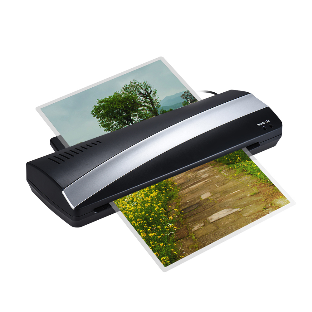 A3 13inch Width Photo Paper Hot and Cold Thermal Laminator Machine Quick Warm-up Fast Laminating Speed with Pouch Board for A4 5 pvc a3 size pouch laminator film photo laminating machine