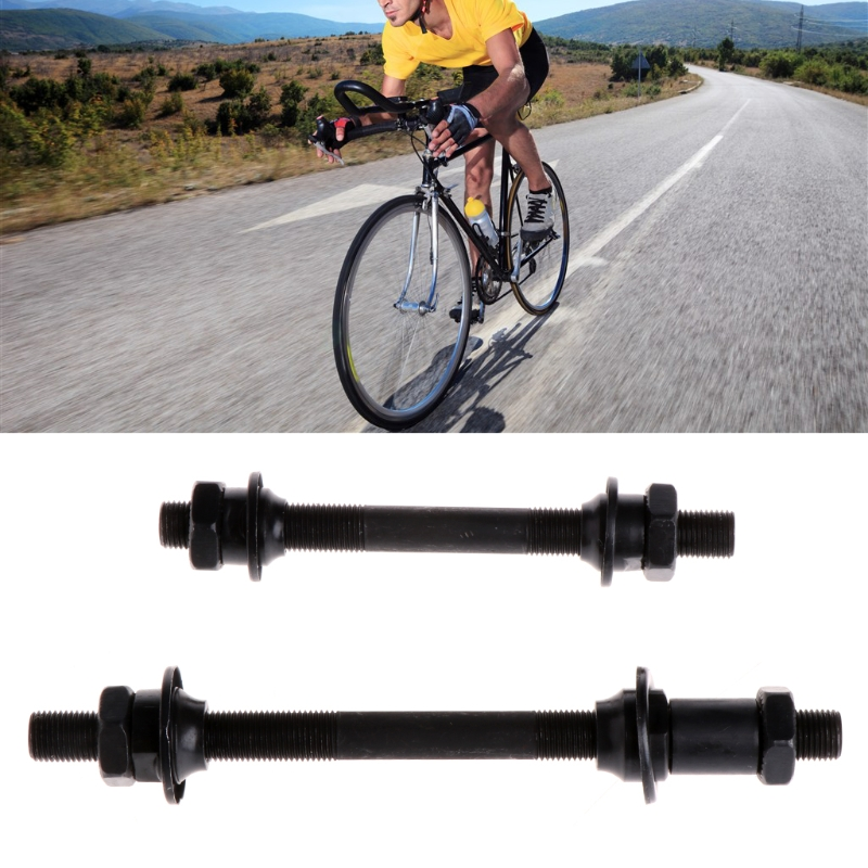 Mountain Bike Bicycle Quick Release Front Back Axles Hollow Hub Shaft Lever New(China)