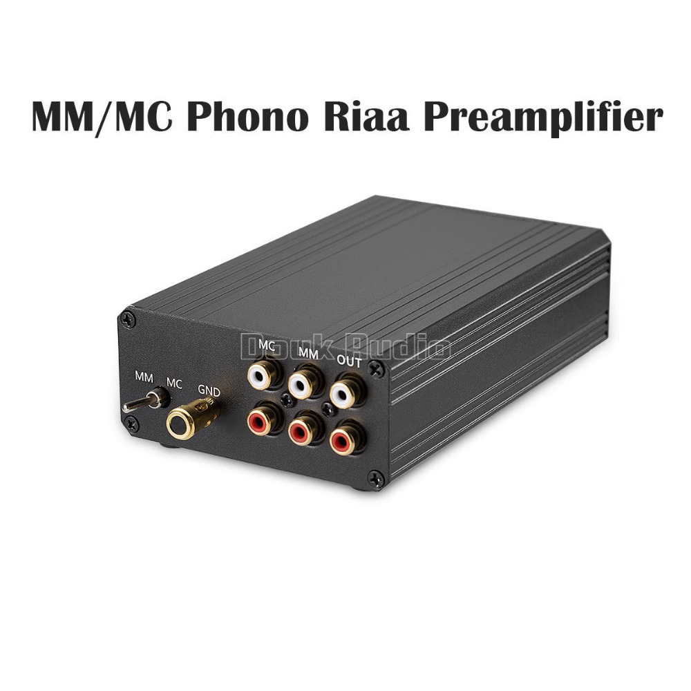 2018 Nobsound Little Bear T8 Phono RIAA Preamplifier MM&MC Turntable HiFi Mini Stereo Audio Pre-Amp brand new little bear t8 turntable mm mc phono riaa preamplifier hifi stereo pre amp diy phono sound amplifier for speakers hot