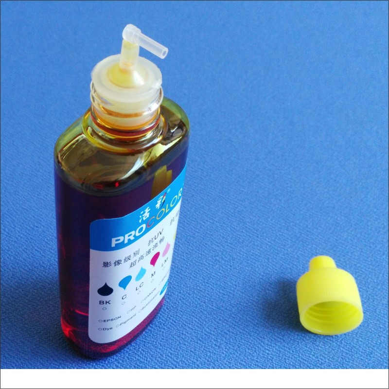 27 252 CISS ink dye ink refill kit For Epson WF-3640 WF7720 WF-7720 DTWF  WF-7615 WF7710 WF-7710 WF-7715 WF 7710 DWF WF-7210 DTW