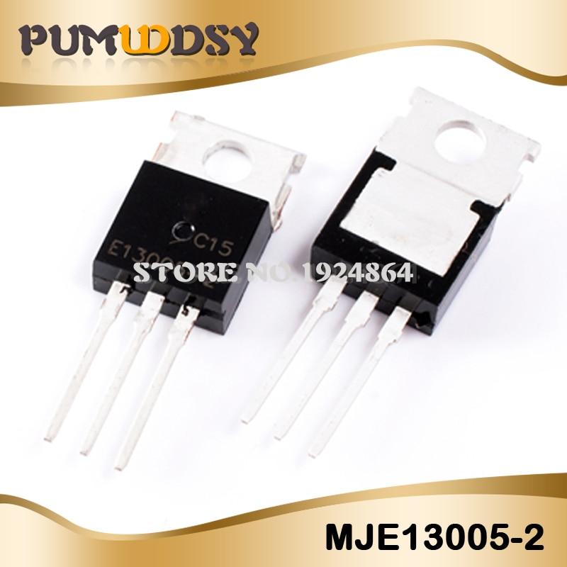 10PCS MJE13005 E13005-2 TO-220 13005 TO220 MJE13005A New Original Free Shipping