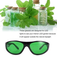 LED Plant Grow Light Protective Glasses Indoor Hydroponic Room Plant Visual Eye Protective UV Glasses Goggles Drop shipping New