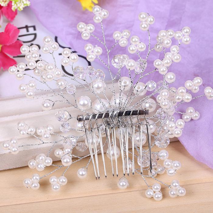HTB1wIHvJpXXXXc_XVXXq6xXFXXXJ Exquisite Bridal Wedding Faux Pearl Hair Comb Accessory