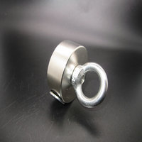 1 Pcs Super Powerful Strong Rare Earth Disc Hole Magnet Neodymium N52 Magnets D50x20mm Magnets