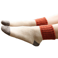 Long Woolen Socks for Women 5 Pairs Set