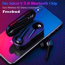 Freebud Touchable Switch TWS Earbuds 5,0 безпроводные наушники для телефона настоящие стерео шумоподавляющие беспроводные наушники