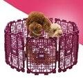 Venta caliente 1 Unidades Valla Corralito para Perros Gato Cachorro Mascotas Jaula de Corrales de Ejercicio de interior Al Aire Libre de La Puerta de Seguridad Sala de Escalera Mascota Segura valla