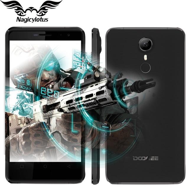 Original DOOGEE F7 Pro 4G LTE  Mobile Phone 5.7 inch 4000mAh 4GB RAM 32GB ROM MT6797 Deca Core Android 6.0 Dual SIM 21.0MP