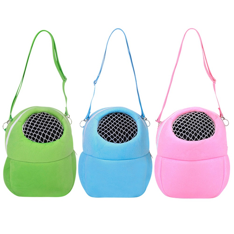 Portable Small Animals Carrier Warm Sleeping Travel Hanging Bag For Pets Rat Hamster Hedgehog Chinchilla Ferret Product Supplies #2