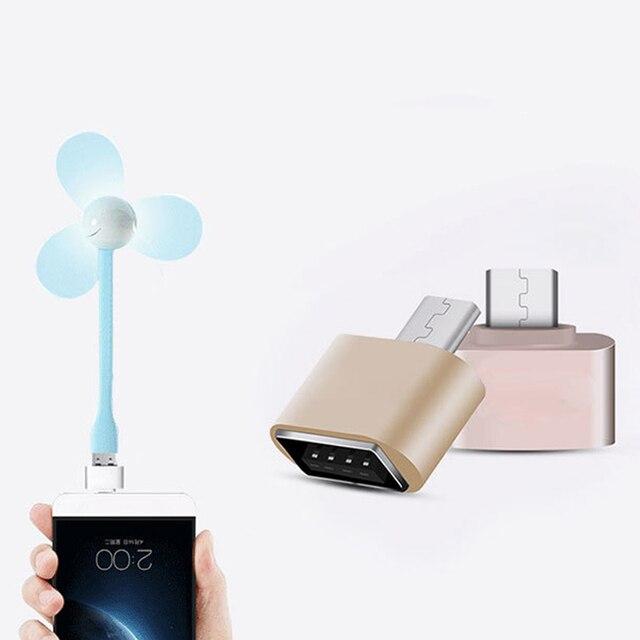1 unidades nuevo mini micro USB OTG Hug Converter Tablets MP3 OTG adaptador para Samsung LG HTC OTG cable