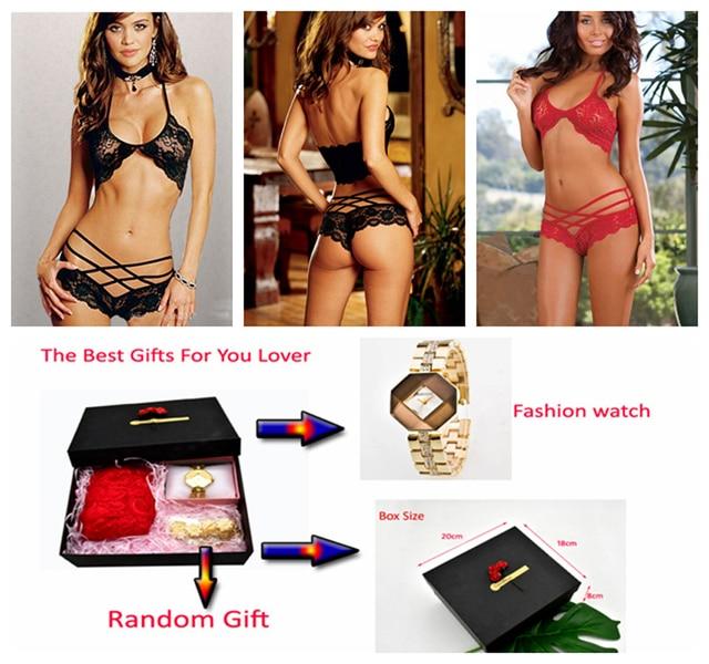 4521163a8 Porn Sex Lingerie Sexy Valentine s Day Gift Open Crotch Sexy Underwear Plus  Size Lingerie Sexy Sleepwear Quartz watch Lover Gift