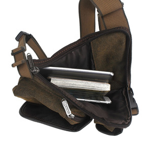 Image 5 - Mens Canvas Retro Drop Leg Bag Waist Fanny Pack Thigh Hip Bum Belt Military Hiking Motorcycle Cross Body Messenger Shoulder Bag