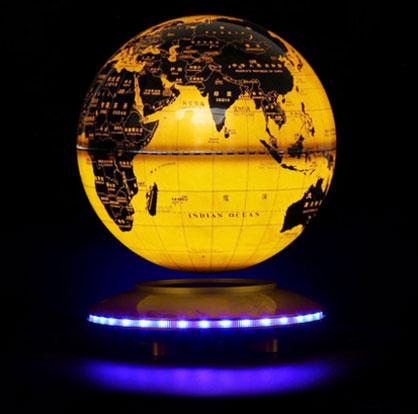 Creative World Map LED Magnetic Levitation Globe Night Lights Table Lamp  Children's Gifts Night Lamp For Kid Plasma Ball Birthd