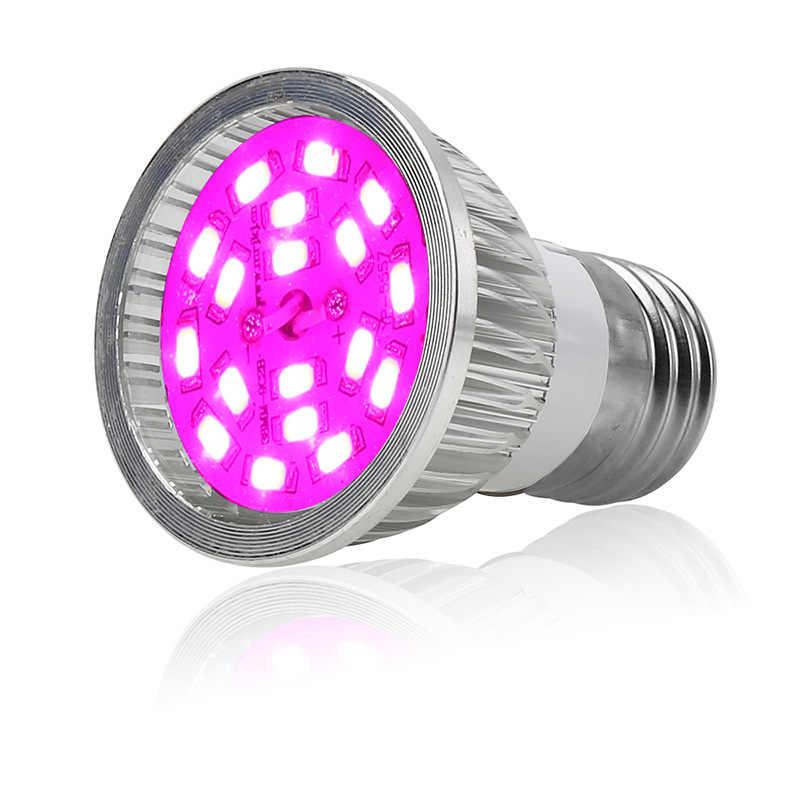 ZjRight spettro Completo E27 di alluminio Ha Condotto La pianta coltiva la luce della lampadina interna giardino di fiori di frutta veg serra tenda box pianta crescere luce
