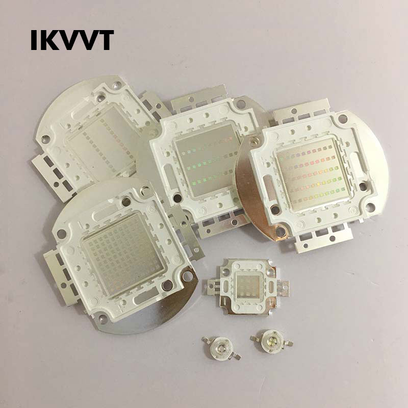 UV Pure Led Chips High Power 390-395nm Haute Puissance COBUltraviolet High-quality Light 1W 3W 10W 20W 30W 50W 100W