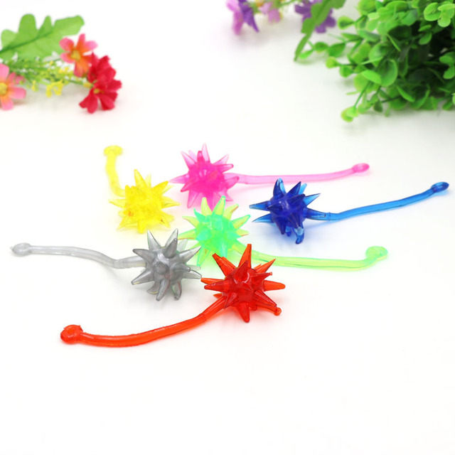 Novelty stress relief toys slime Meteor hammer weapon antistress entertainment Action Figure funny gadgets gags practical jokes 2