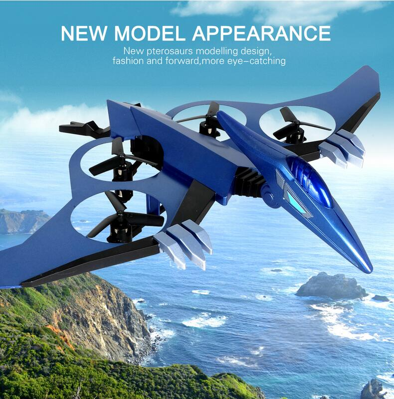 Hot Sell Pterosaurs model set Remote Control Drone jxd511 4ch 2.4Ghz 6 axis gyro RC Quadcopter rc Helicopter can with HD Camera free shipping hot sell rc helicopter k400 ufo drone 2 4ghz 4ch remote control rc 6 axis gyro 3d quadcopter vs jxd385 x800