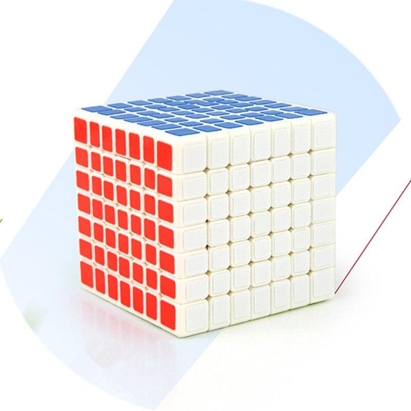 3 Style 7x7x7 Cubes magiques jeu de course Cube enfants Puzzle jouets compétition formation Cubes magiques pour enfants adultes cadeau - 2