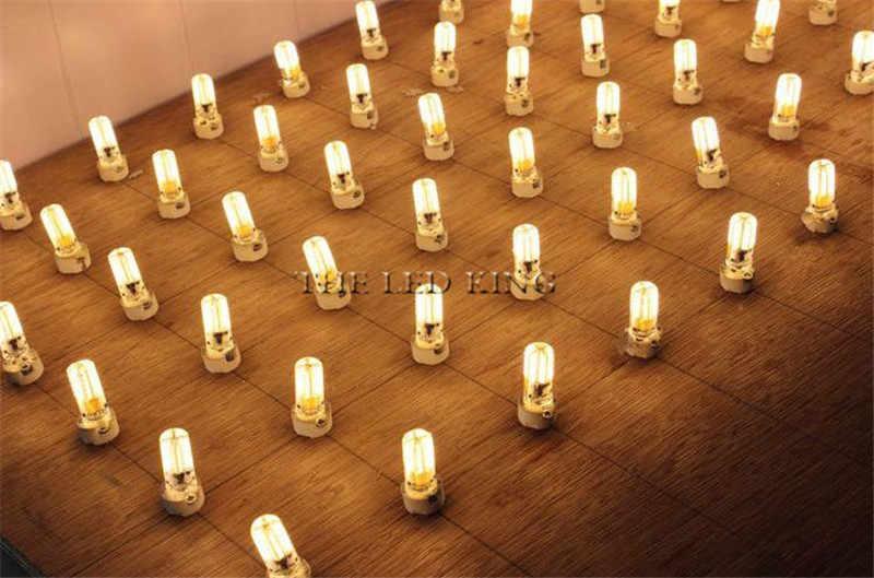 Super Terang G9 Lampu Bohlam LED Dimmable Hangat/Putih 220V 7W 10W 15W LED G9 COB LED Lampu Lampu G4 AC DC 12V LED