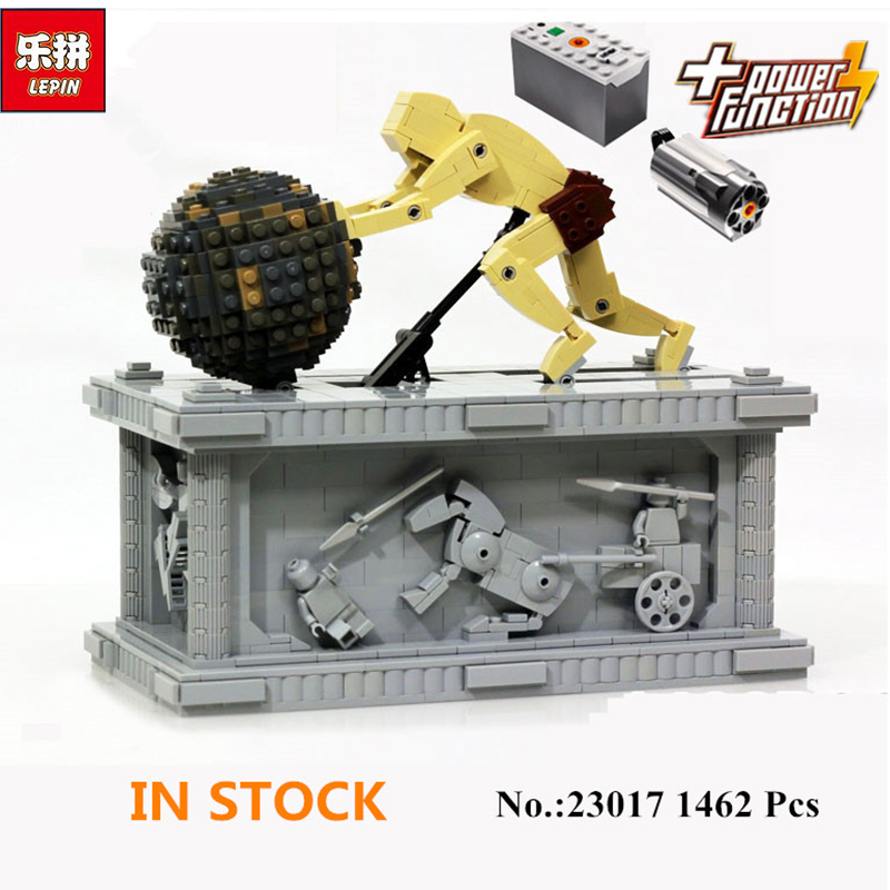 NEW Lepin 23017 1462Pcs Movie Series MOC Le Mythe de Sisyphe Building Blocks Bricks to Holiday Toys Gift new lepin 23017 1462pcs movie series moc le mythe de sisyphe building blocks bricks to holiday toys gift