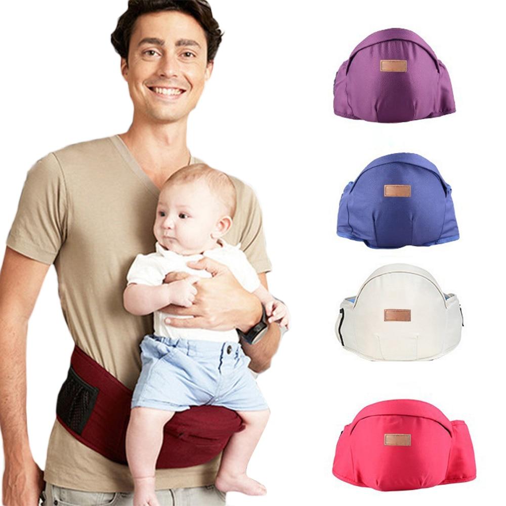 Adjustable Baby Carrier Ergonomic Baby Waist Stool Walker Hipseat Sling Toddler Front Holder Wrap Belt Holder Hip Seat Belt