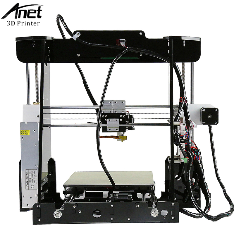 Anet A8 3D Printer High Quality Reprap DIY Assembly 3D Printer Kit With Free 8G SD Card LCD Video Gift Desktop 3d Printer Kit in 3D Printers from Computer Office