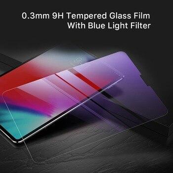 2 uds Protector de pantalla Premium para 2018 Apple iPad Pro 11 lápiz a prueba de arañazos 0,3mm película de vidrio templado con filtro de luz azul