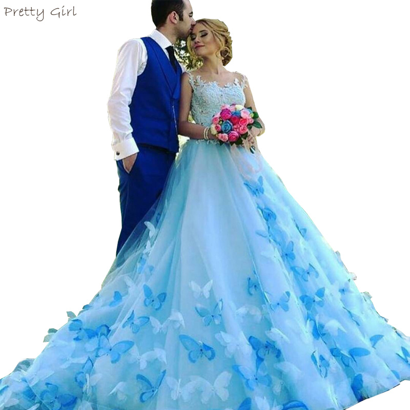 Online Buy Wholesale Butterfly Wedding Gowns From China