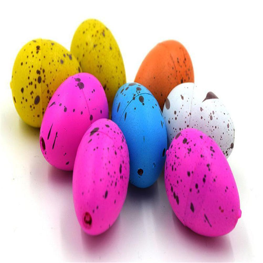 20pcs/lot Magic Dinosaur Eggs Toy For Kids Gifts Children Water Hatching Inflation Growing Dino Egg Novelty Gag Toys