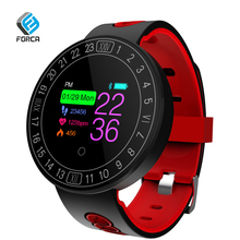 FORCA Q8Plus Color LCD Smart Bracelet Fitness Tracker Sleep Tracker Social Media Notifications For IOS And Android Phone