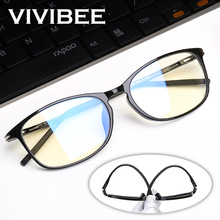 VIVIBEE Anti Blue Light Glasses Men Bluelight Radiation Women TR90 Computer Protection Gaming Ray Blocking UV Komputer Eyewear
