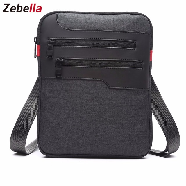 Zebella Casual Mens Messenger Shoulder Bag For iPad 10