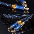 EMK оптоволокно линейный аудиовход LSYJ-A Высокое Качество Синий Цифровой Оптический Волоконно-Оптический Toslink Аудио Кабель SPDIF Кабель